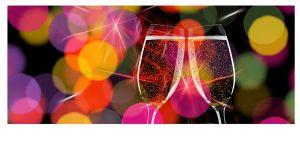 champagne réveillon fête