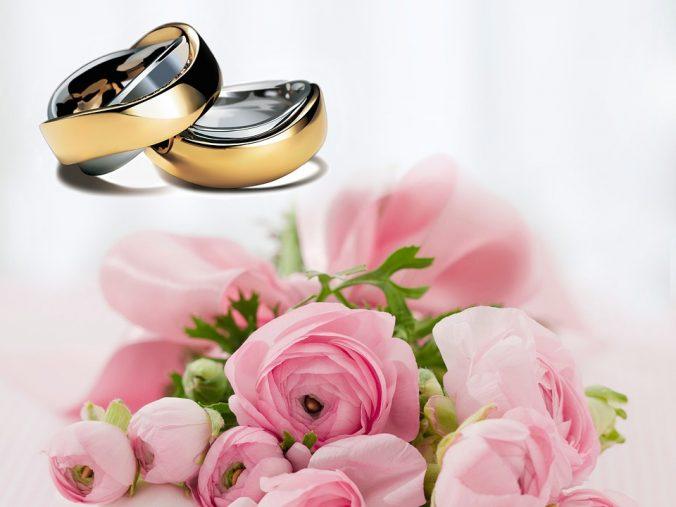 alliance mariage fête