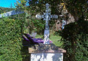 croix en paysage