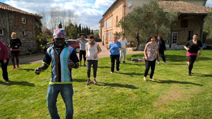 Séminaire de formations aux danses africaines aux bourdoncles