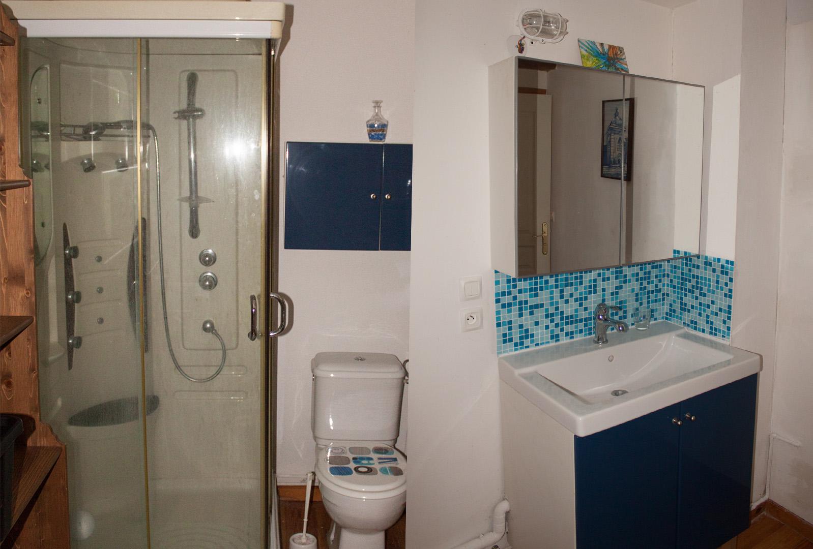 Ombrassa salle de bain